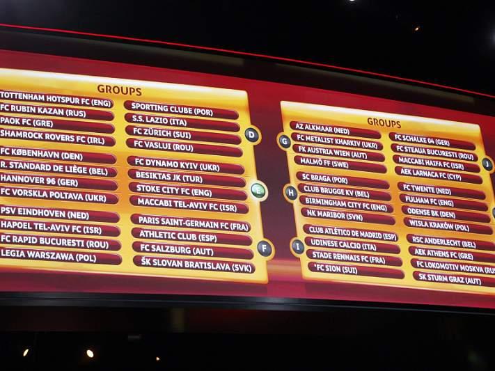 UEFA coloca Celtic no lugar do Sion no Grupo I