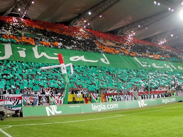 Legia Varsóvia sob alçada disciplinar da UEFA