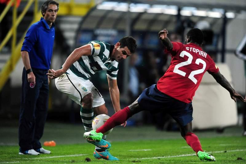 Sporting tenta recuperar da crise na Bélgica