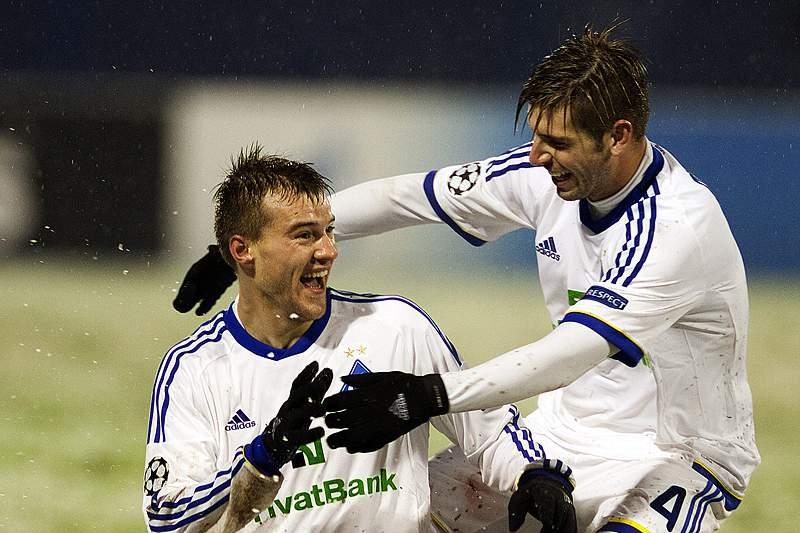 Dínamo de Kiev vence primeira mão do play-off