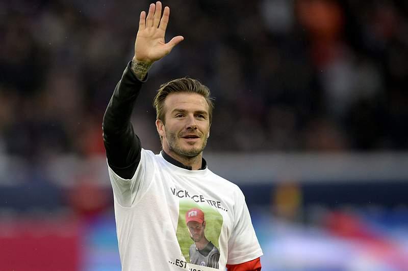 Vitória do PSG em jeito de despedida de Beckham