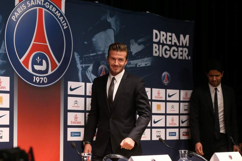 Beckham junta-se a lendas do futebol que terminam carreira este ano