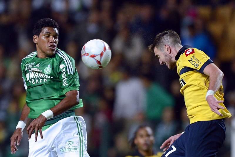 Saint-Etienne e Bordéus não vão além do empate
