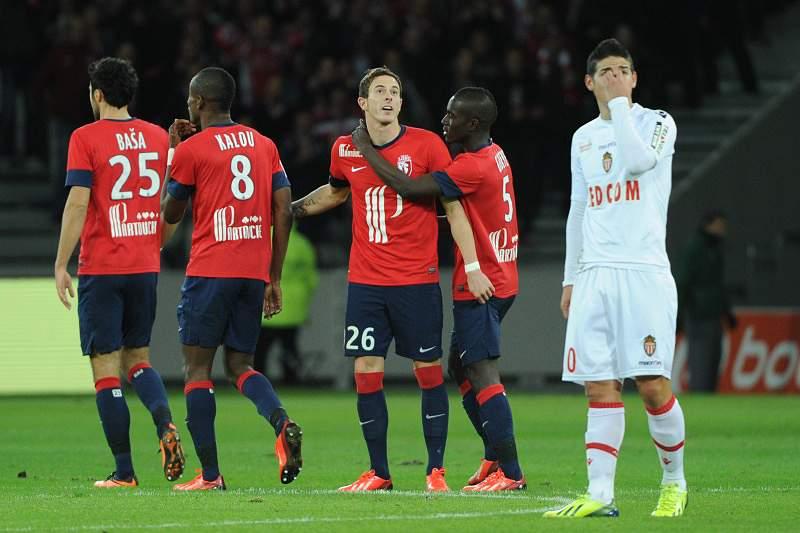 Lille perde com o Reims e falha ataque ao 2.º lugar do Mónaco na Liga francesa