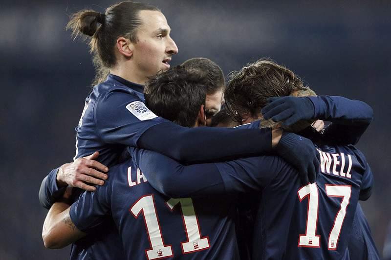 PSG reforça liderança no campeonato francês