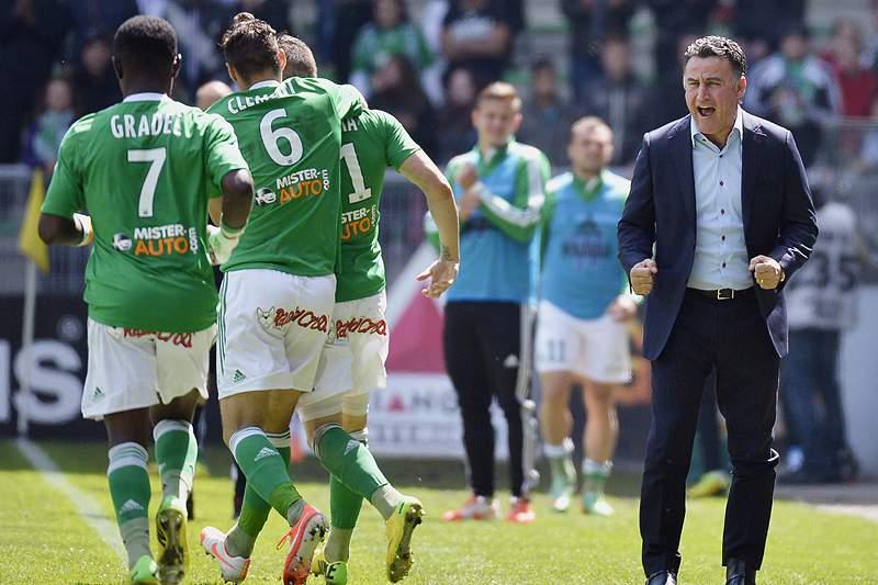 Saint-Etienne garante Liga Europa e ainda sonha com a