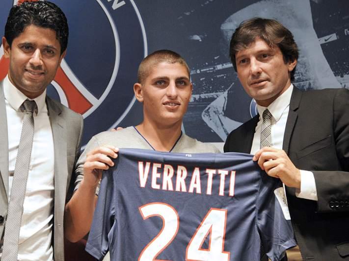Marco Verratti prolonga contrato até 2018