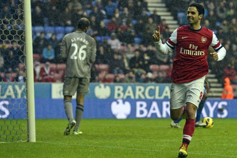 Arsenal vence Wigan