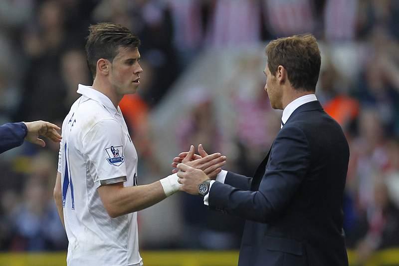 André Villas-Boas descarta Bale para o jogo com Crystal Palace