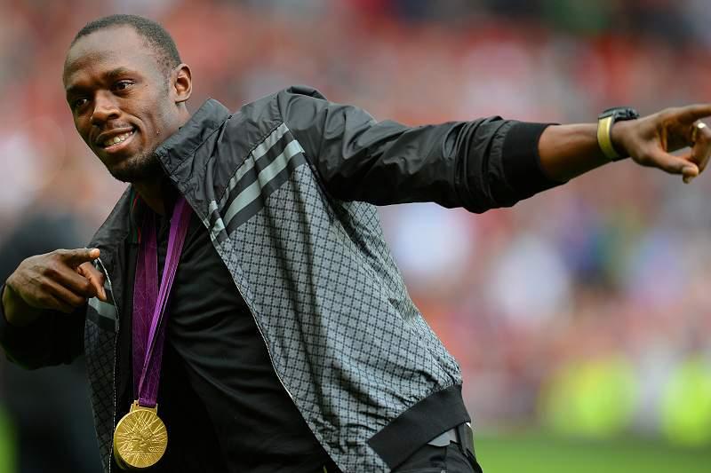 Bolt rei em Manchester