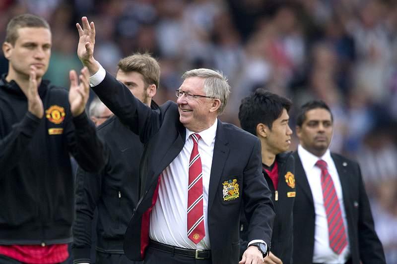 Alex Ferguson despede-se com empate a 5-5
