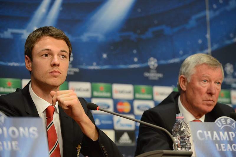 Jonny Evans é mais uma aposta de 'Sir Alex' na formação