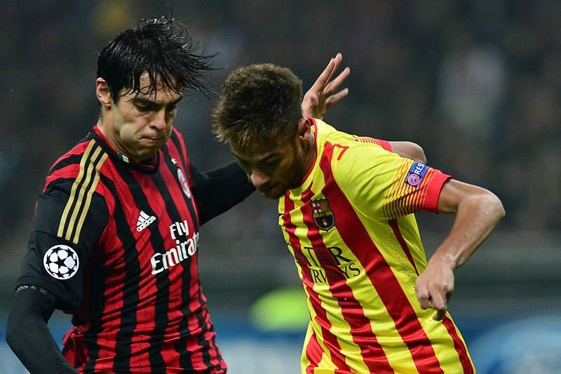 Kaká chega aos 100 golos com a camisola do AC Milan