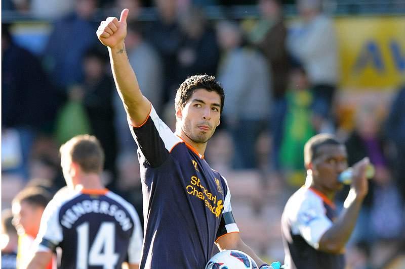 Suarez bisa na vitória do Liverpool