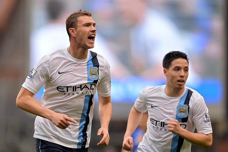 Manchester City vence e mantém-se na luta pelo título