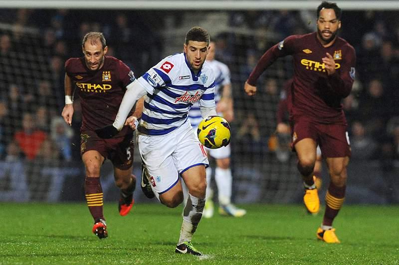 Manchester City derrapa no terreno do QPR