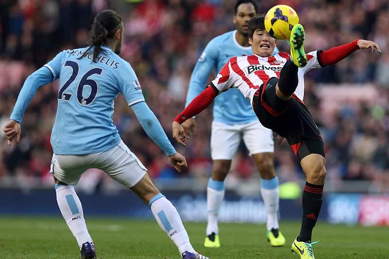 Manchester City surpreendido em casa do Sunderland