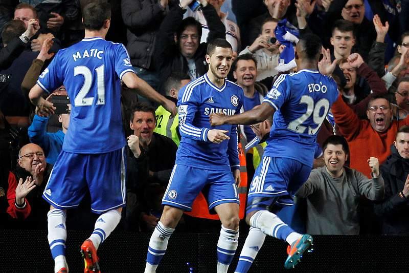 Goleada azul em Stamford Bridge