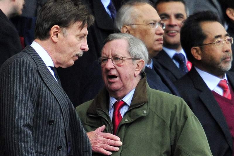 Presidente do Arsenal internado após ataque cardíaco