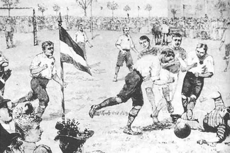 Há 150 anos dava-se o pontapé de saída para a evolução do futebol moderno