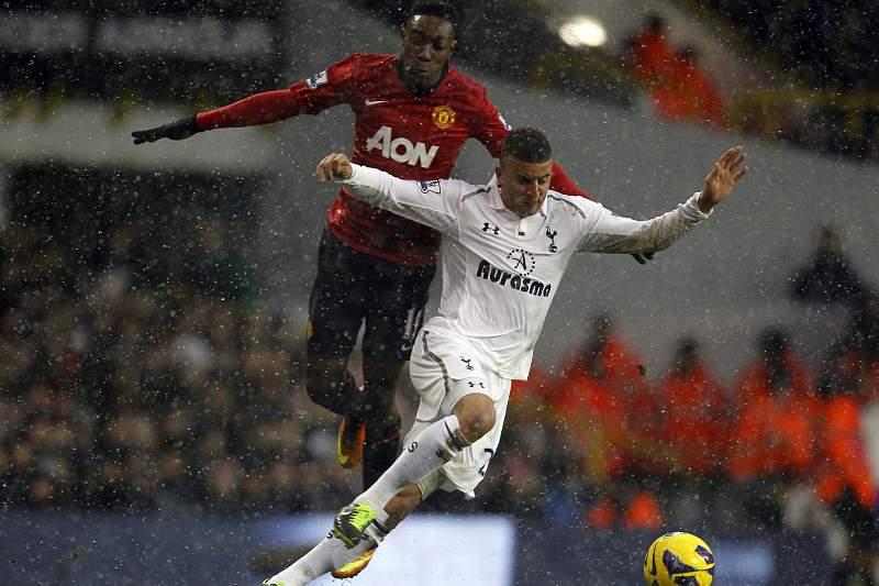 Tottenham sufoca e empata Manchester United