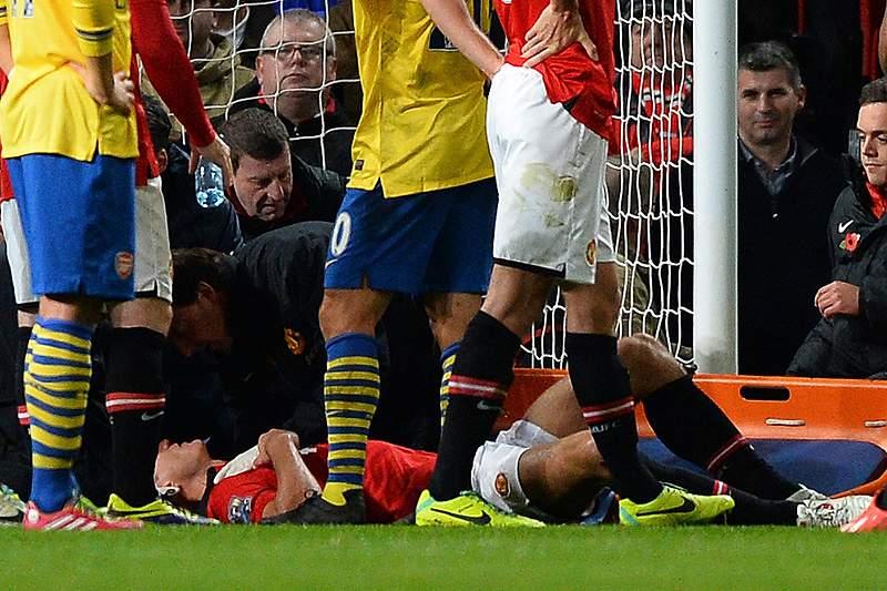Vidic, do Manchester United, já saiu do hospital