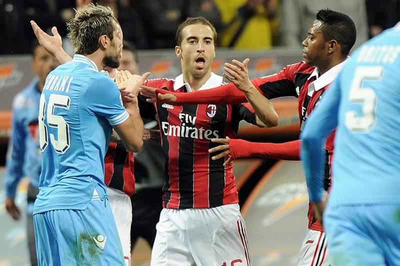 AC Milan e Nápoles atrasam-se na perseguição à líder Juventus