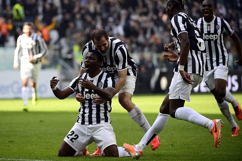 Asamoah assegura triunfo sobre Fiorentina