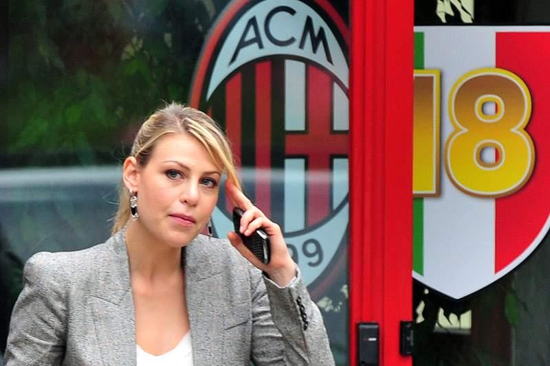 Filha de Berlusconi prepara revolução no AC Milan