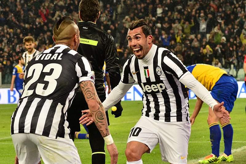 Juventus mais próxima da revalidação do título