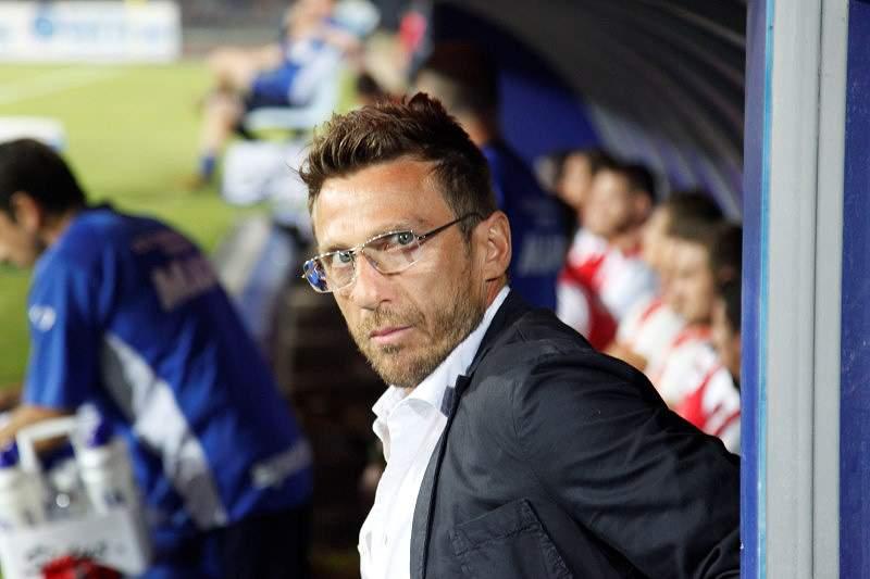 Sassuolo demite o técnico Eusebio Di Francesco