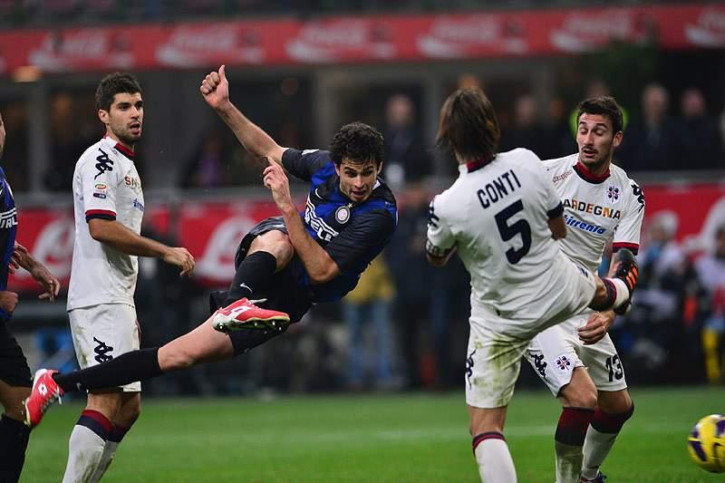 Inter falha aproximação à Juventus