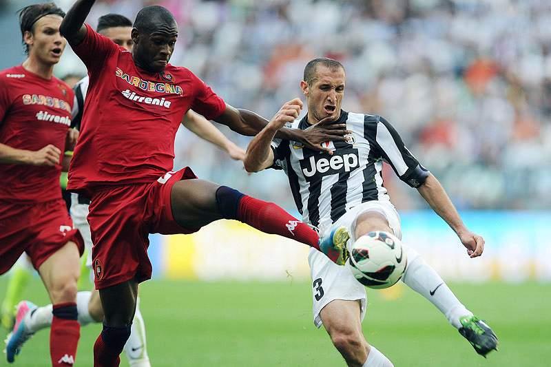Juventus consente empate em casa com Cagliari