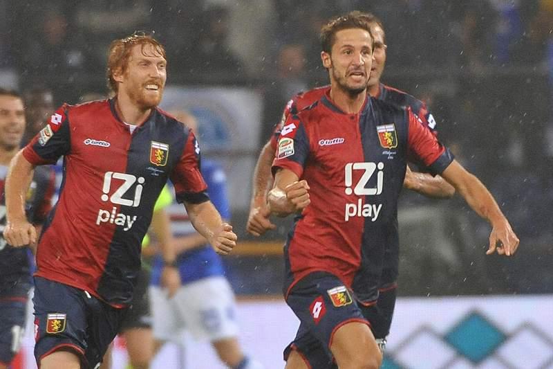 Génova goleia Sampdoria no dérbi da cidade