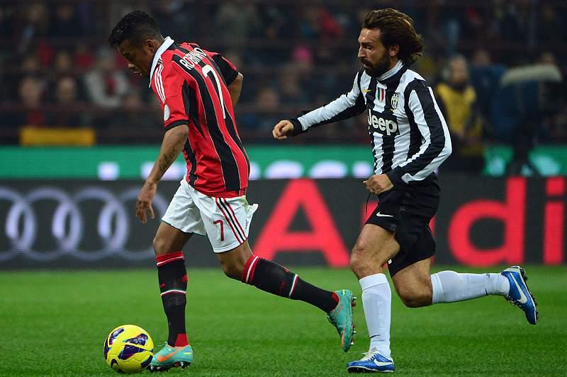 Juventus confirma lesão de Pirlo