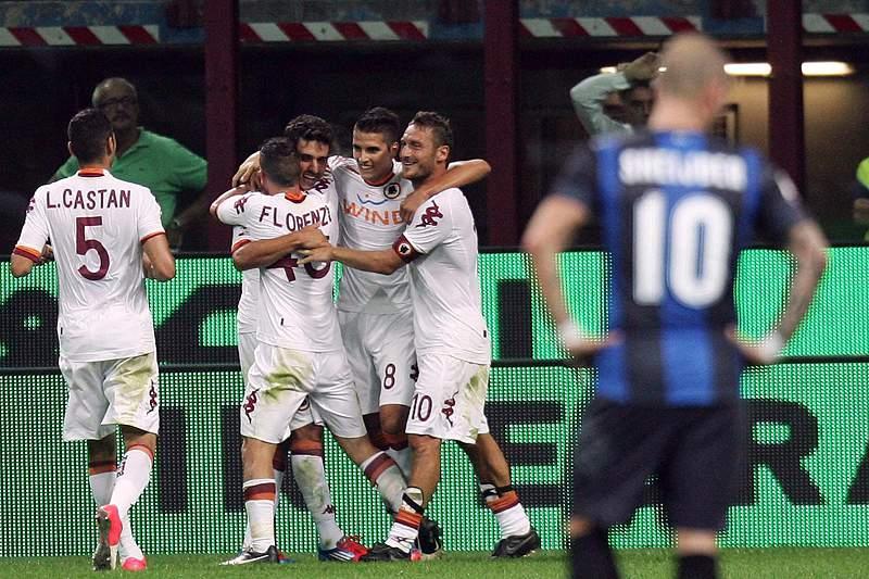 AS Roma impõe primeira derrota a Inter de Milão