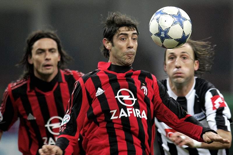 AC Milan dá os parabéns a Rui Costa