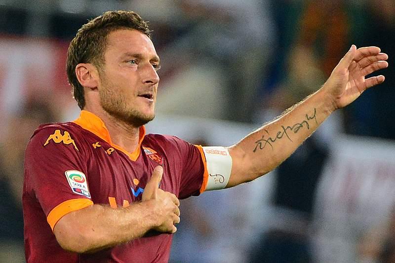 Totti para a história