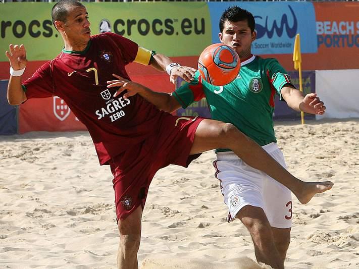 Portugal candidato à organização do Mundial de Futebol Praia 2015