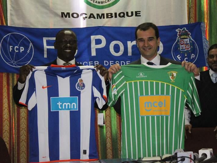 FC Porto e Ferroviário de Maputo estreitam laços com abertura de Dragon Force