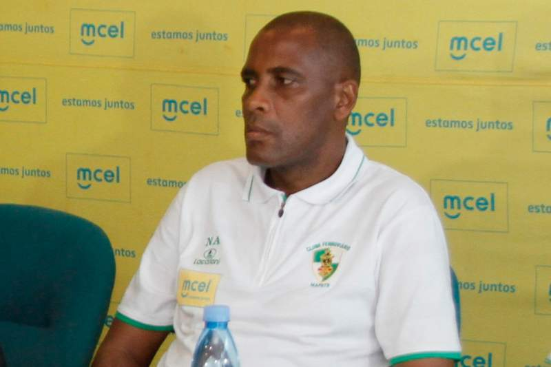 Nacir Armando, treinador do Desportivo Nacala
