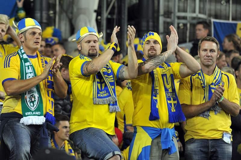 Suécia anuncia onze para defrontar Portugal