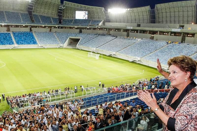 Um estádio com vocação para