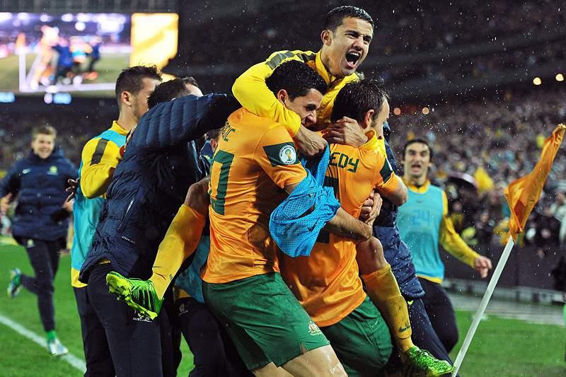 Austrália qualificada para o Mundial2014