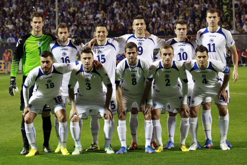 Milhares de bósnios festejam ida ao Mundial 2014