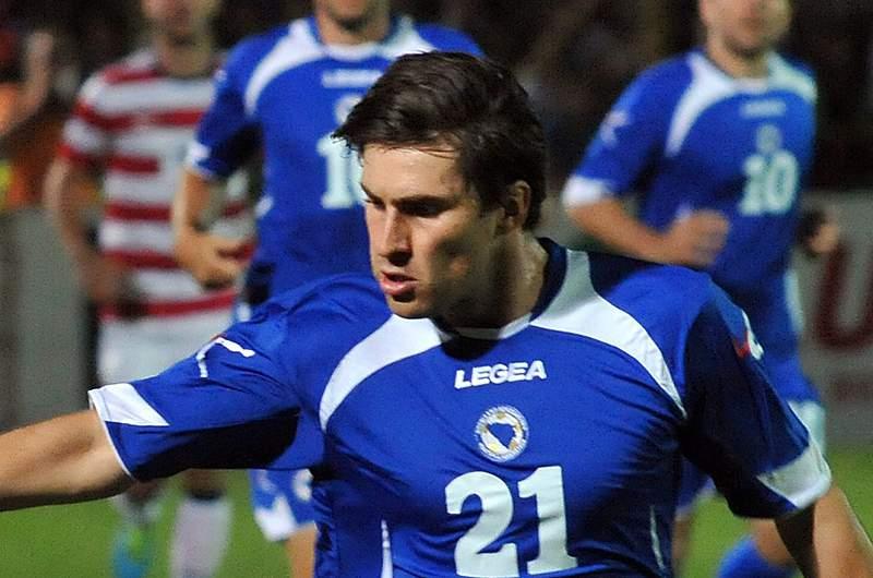 Ervin Zukanovic excluído da seleção da Bósnia