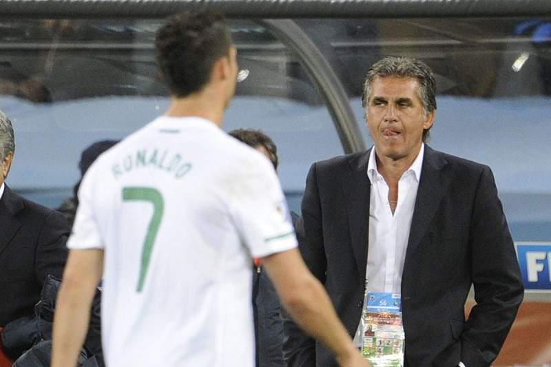 «Felicito o Cristiano Ronaldo»