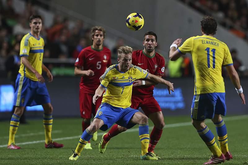 Portugal procura gerir vantagem na Suécia e redescobrir o caminho para o Brasil
