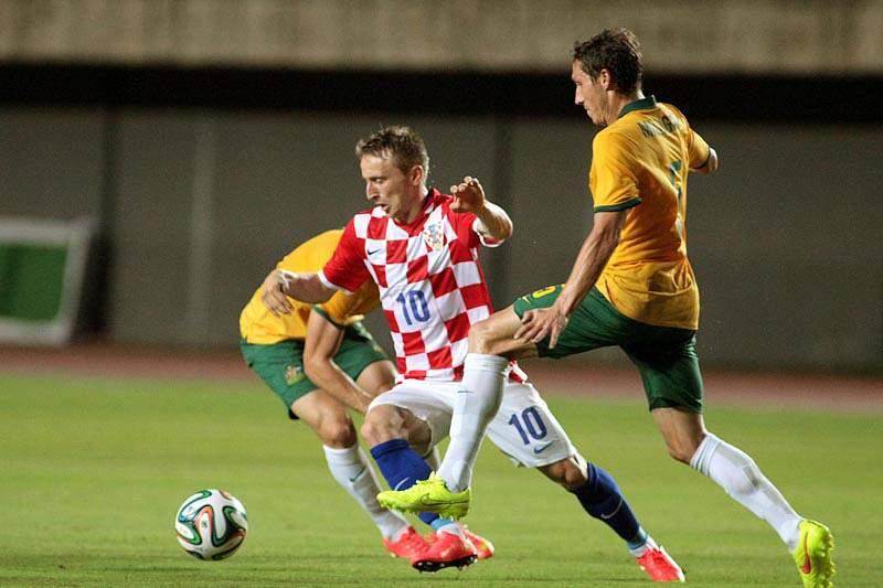 Croácia bate Austrália, com golo de Jelavic