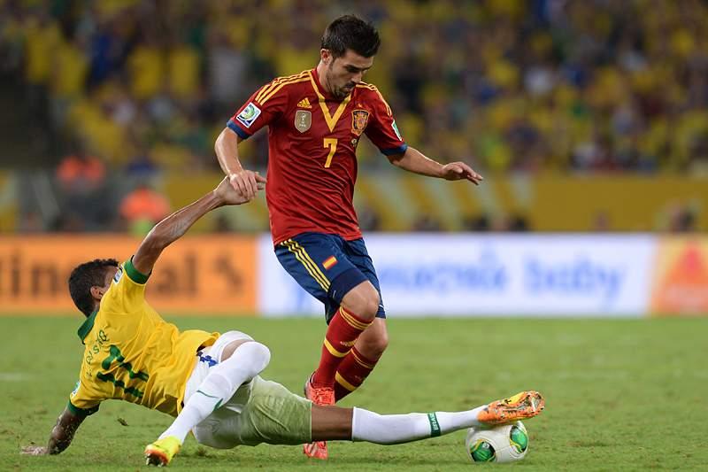 David Villa vai abandonar a seleção espanhola